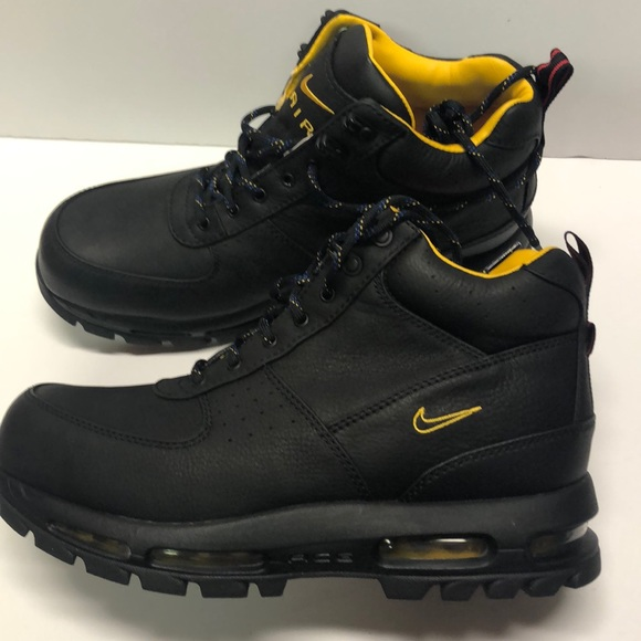 Nike ACG Air Max Goadome Boots BlackYellowRed DM NWT